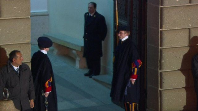 Swiss Guards stepping down