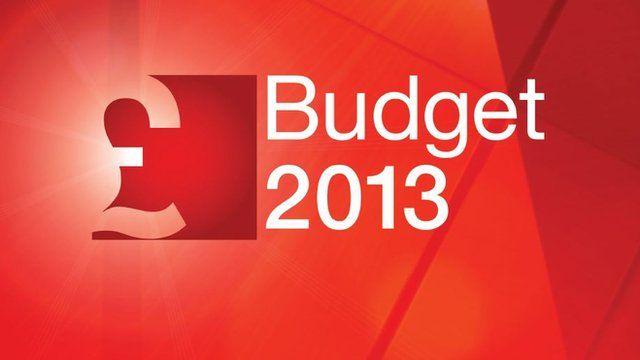 BBC Budget graphics