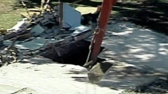 Sinkhole in Tampa