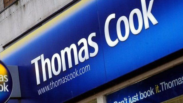 Thomas Cook shop front