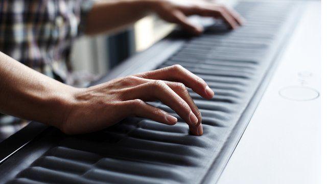 Spongy piano