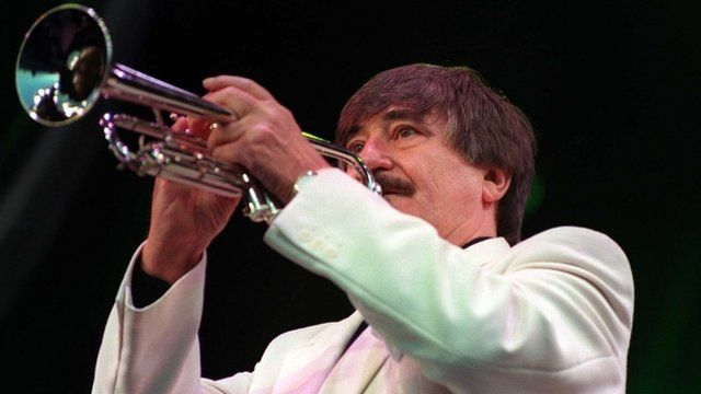 Jazz trumpeter Kenny Ball