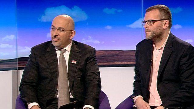 Nadhim Zahawi and Tim Montgomerie