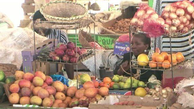 Market in Kenya