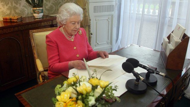 The Queen delivers her Commonwealth Day message