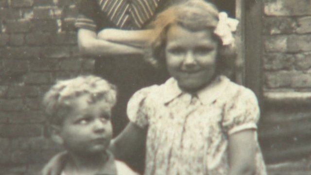 John Stubbs and Rose Burleigh as children