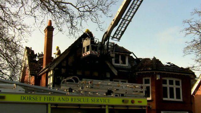 Buckholme Towers school fire