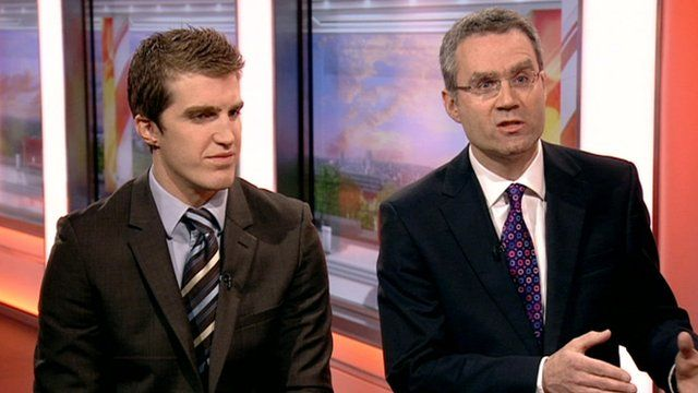 Rob Cummings from the ABI and Karl Tonks from the Association of Personal Injury Lawyers
