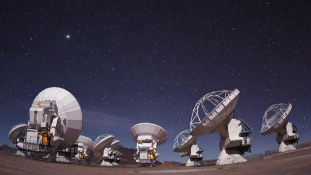 Alma telescopes