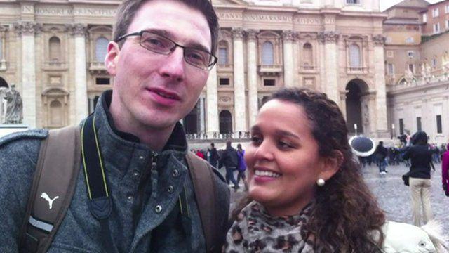 German/Brazilian couple