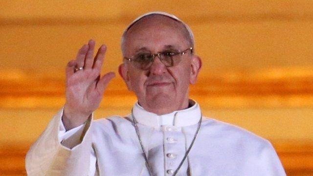 Cardinal Bergoglio, the new Pope