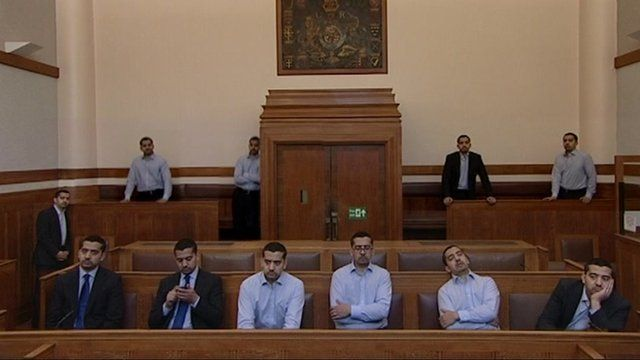 Court full of Mehdi Hasans