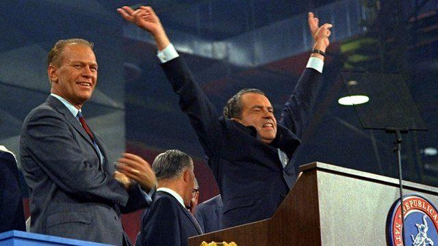 Richard Nixon accepts the Republican nomination in 1968