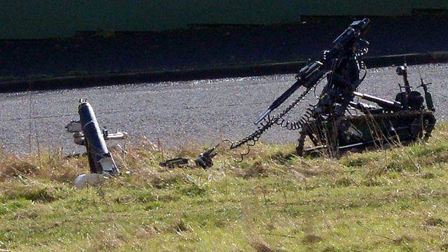 Mortar and robot