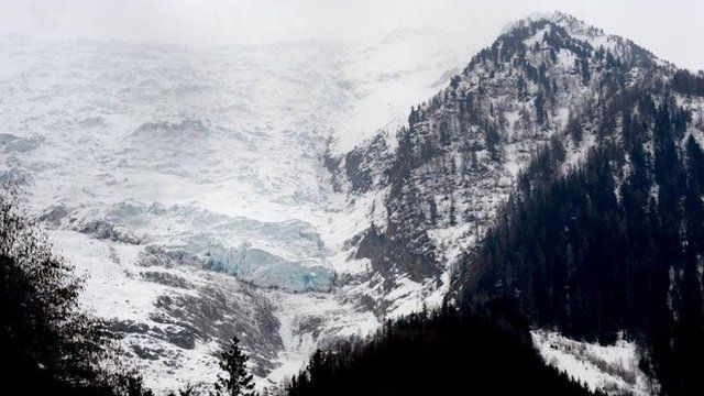 Mont-Blanc Bossons glacier