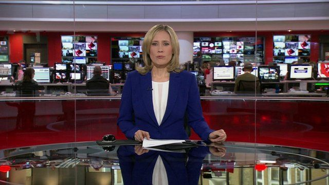 BBC news presenter Sophie Raworth