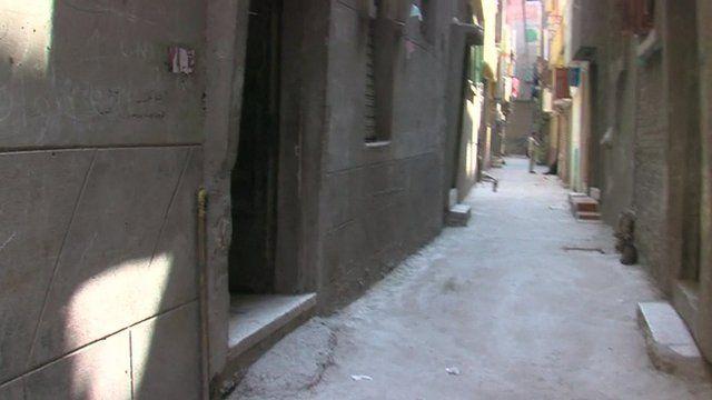 Street in Gharbiya, Egypt