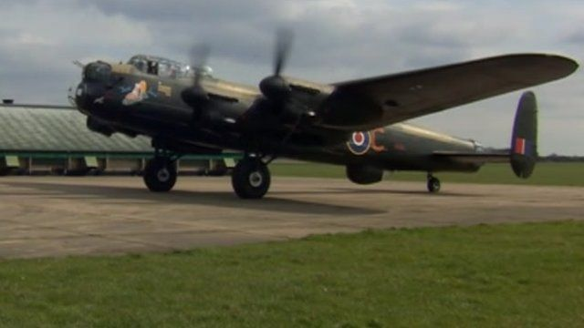 The brothers want to restore the Lancaster bomber to make it airworthy
