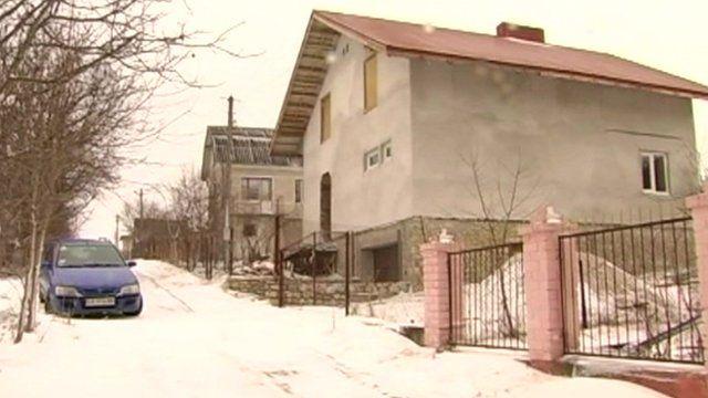 A straw bale house in western Ukraine