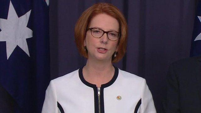 Australian PM Julia Gillard