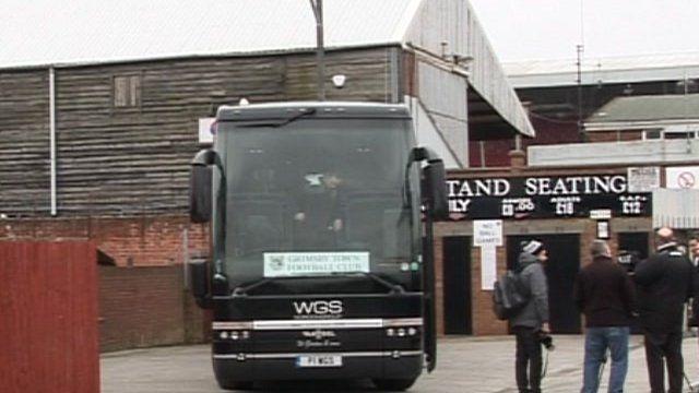 Grimsby Town coach