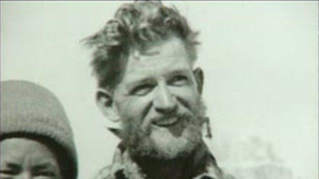 George Lowe during his climb to Everest in 1953