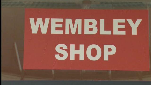 Wrexham Wembley shop