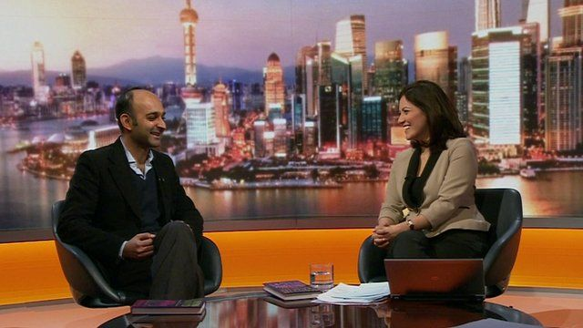 Mohsin Hamid and Mishal Husain