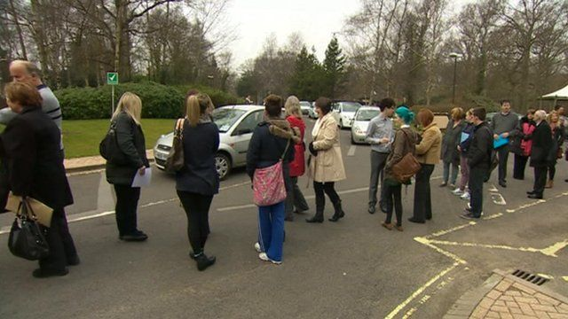 Thousands attended Whiteley Village shopping centre jobs fair