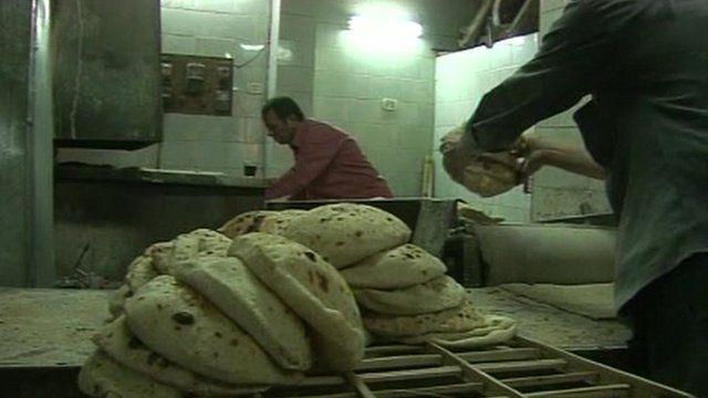 Bakery in Egypt