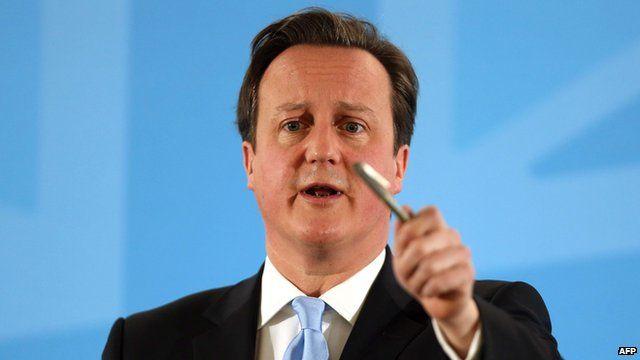 David Cameron (25 March 2013)