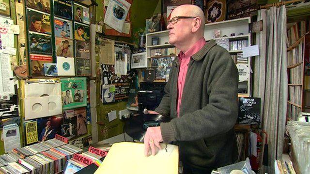 Jimmy Shannon from The Diskery in Birmingham