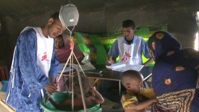 M'bera camp in Mauritania