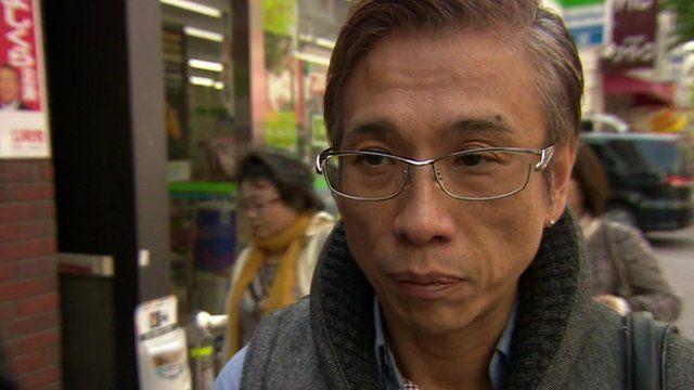 Man on Tokyo street