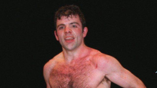 Eamonn Loughran in December 1994