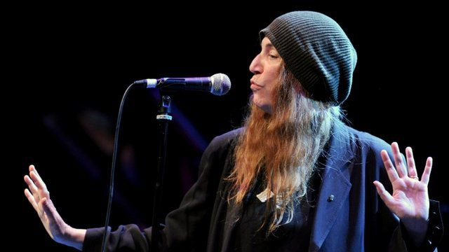 Patti Smith performance