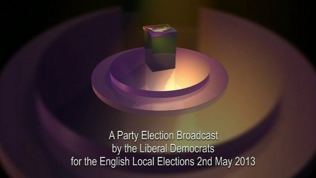 Party Election Broadcast by Liberal Democrats