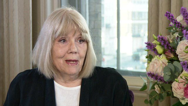 Dame Diana Rigg on dealing with fame and fortune - BBC News
