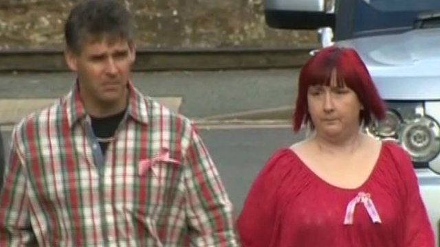 Paul and Coral Jones arriving at court