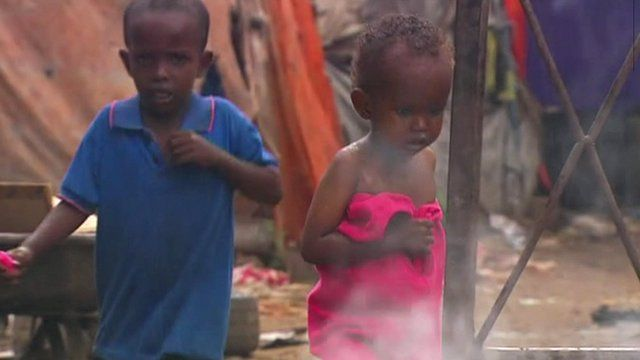 Children in Somalia