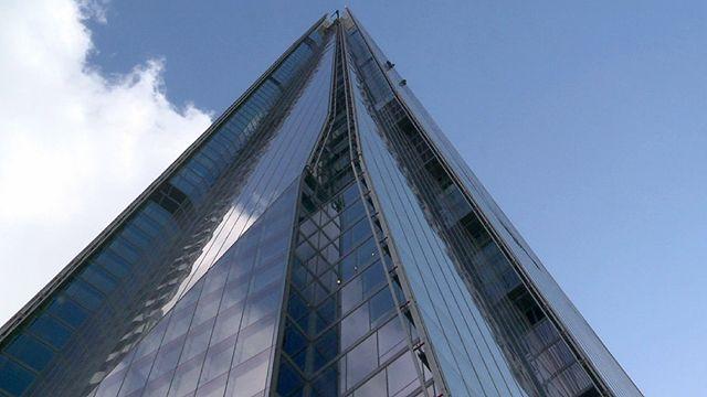 London's Shard building