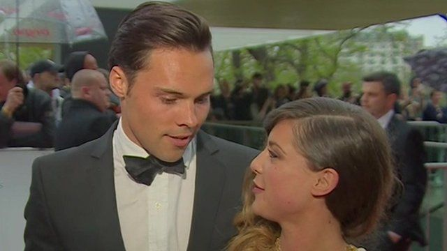Andy Jordan and Louise Thompson