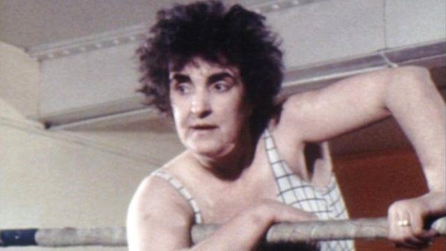 Sue Brittain in the ring