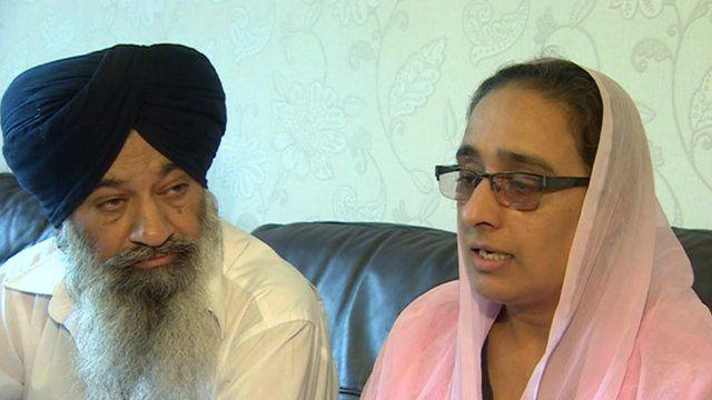 Santokh Singh Loyal and Amrit Kaur Loyal