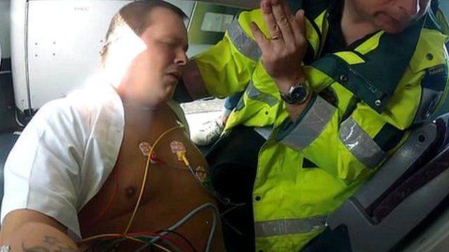 Train driver David Graham