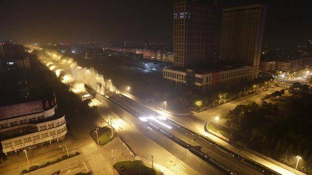 Dunyang Highway, China