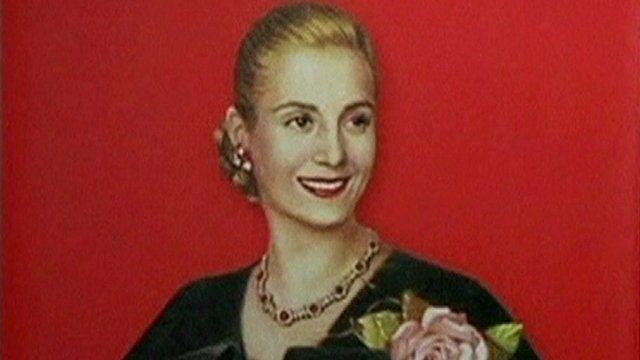 A picture of Eva Peron