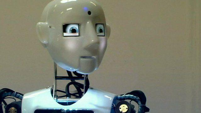 Human like robot.