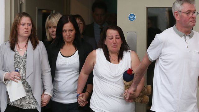 Drummer Lee Rigby's family