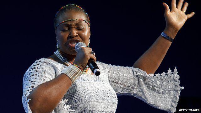 Yvonne Chaka Chaka, 2012